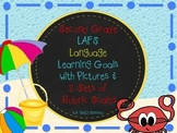 LAFS FLORIDA Gr 2 LANGUAGE Learning Goals with 2 SETS of RUBRICS & DOK Levels