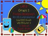 LAFS FLA Gr 2 RI & RL Learning Goals with 2 SETS of RUBRIC