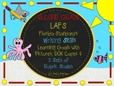 LAFS-FLA SECOND GRADE WRITING Learning Goals with 2 SETS of RUBRICS & DOK Levels