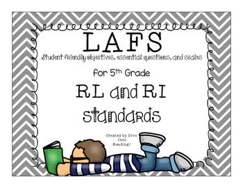 LAFS Kid Friendly Posters Grade 5