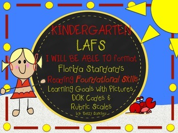 LAFS I WILL BE ABLE TO format Kinder FOUNDATION SKILLS Lea