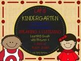 LAFS FLA KINDERGARTEN SPEAKING & LISTENING Goals, 2 SETS of RUBRICS & DOK Levels