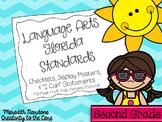 LAFS - Language Arts Florida Standards {2nd Grade - Turquoise Chevron}