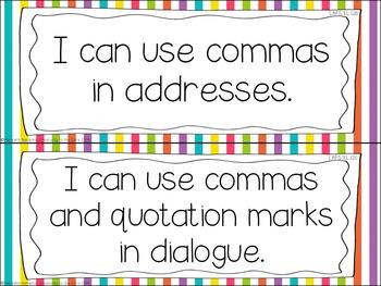 LAFS - Language Arts Florida Standards {3rd Grade - Rainbow Stripe}
