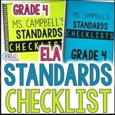 4th Grade Standards Checklist: Language Arts Florida Standards (LAFS)
