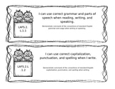 LAFS Language Standards for 2nd Grade