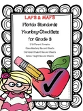 LAFS & MAFS Florida Standards Differentiated Checklists for Gr 3