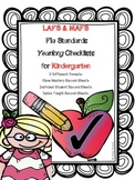 LAFS & MAFS Florida Standards KINDERGARTEN Differentiated Checklists