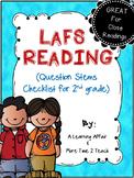 LAFS Question Stems Checklist {2nd Grade}