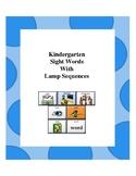 LAMP AAC Kindergarten Sight Words Set
