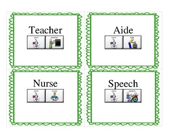 LAMP Words for Life - School Vocabulary Sequencing - Lamp AAC