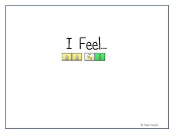 "LAMP AAC book- ""I Feel"""