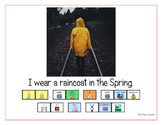 """LAMP AAC book- """"In the Spring"""""""