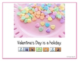 """LAMP AAC book- """"Valentine's Day"""""""