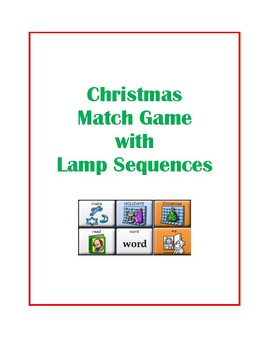 LAMP Christmas Matching Game -- WFL -- AAC Device