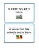 LAMP Parts of Speech Task Cards -- WFL -- AAC Device