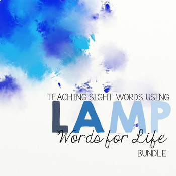LAMP WFL Sight Words Worksheets BUNDLE