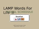 LAMP Words For Life Visual Schedule