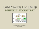 LAMP Words for Life Vocabulary Cards