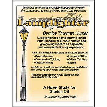 LAMPLIGHTER NOVEL STUDY Gr. 3-6