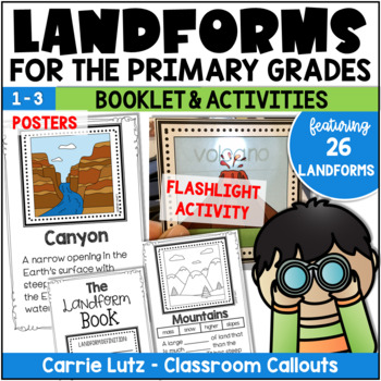 LAND FORMS POSTERS, BOOKLET AND MORE