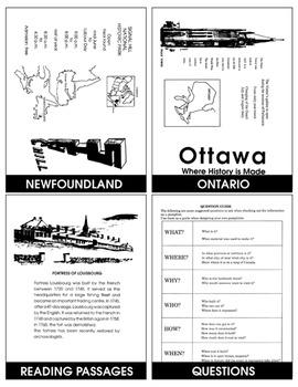 LANDMARKS OF CANADA Gr. 3+