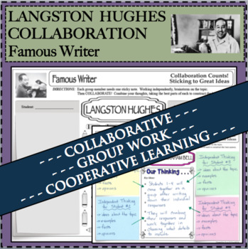 LANGSTON HUGHES Collaboration Activity Research Biography