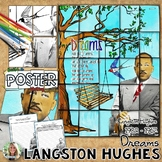 """Langston Hughes, Poetry, """"Dreams,"""" Collaborative Poster, and Writing Activity"""