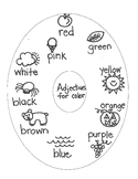 LANGUAGE ARTS:  Adjectives for Color, Size, Number, Shape for Young Artists
