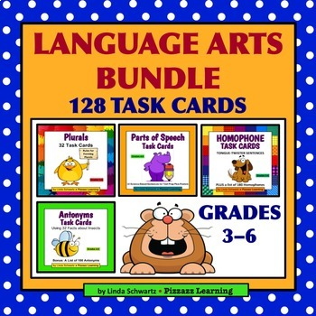 LANGUAGE ARTS BUNDLE • Grades 3–6