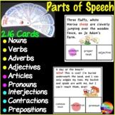 Identifying PARTS OF SPEECH Printable Activities BUNDLE Nouns, Verbs, Adverbs,