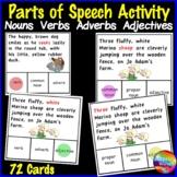 Identifying PARTS OF SPEECH Activities SET 1