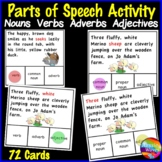 Identifying PARTS OF SPEECH Activities SET 1