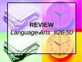 LANGUAGE ARTS REVIEW #2