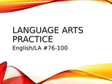 LANGUAGE ARTS REVIEW #3