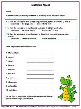 LANGUAGE ARTS REVIEW • Grades 5–6 • GREAT BACK-TO-SCHOOL WARM-UPS
