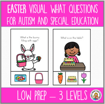 EASTER LANGUAGE BUNDLE FOR SPEECH THERAPY AND SPECIAL ED