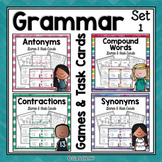 Synonyms, Antonyms, Contractions, Compound Words Bundle -