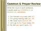 ELA NOUNS Singular/Plural Common/Proper Concrete/Abstract PowerPoint PPT