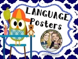 4th Grade Language Grammar Anchor Charts Owl Themed