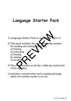 LANGUAGE STARTER PACK PREVIEW
