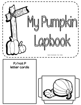 Pumpkin Lapbook for Beginning Literacy, Math and Science Skills