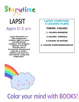 LAPSIT STORYIME-Color your mind with books! Lesson Plan