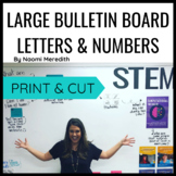 LARGE BULLETIN BOARD LETTERS