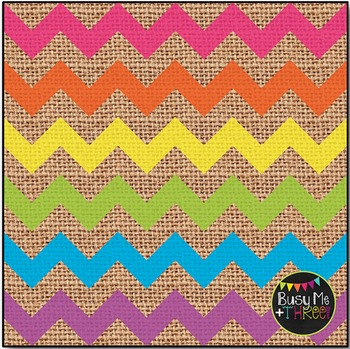 LARGE Bright Chevron Burlap Digital Papers {Commercial Use Digital Graphics}