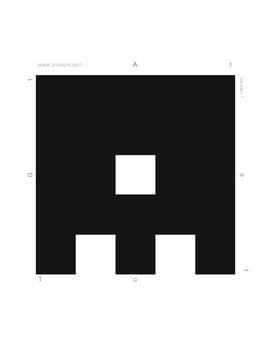 LARGE Plickers Cards (Anti-Cheat double-sided design) for gyms and big spaces