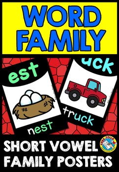 SHORT VOWELS PRINTABLES (WORD FAMILY POSTERS)
