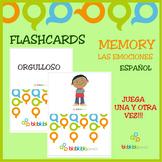 LAS EMOCIONES / EMOTIONS FLASHCARDS - SPANISH