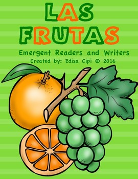 LAS FRUTAS - FRUITS IN SPANISH