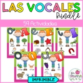 LAS VOCALES BUNDLE/ SPANISH VOWELS BUNDLE